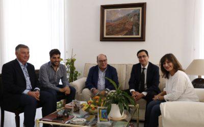 La alcaldesa de Navalmoral ha reiterado el apoyo a la Central Nuclear de Almaraz en la reunión mantenida con la dirección de CNAT en la mañana de hoy