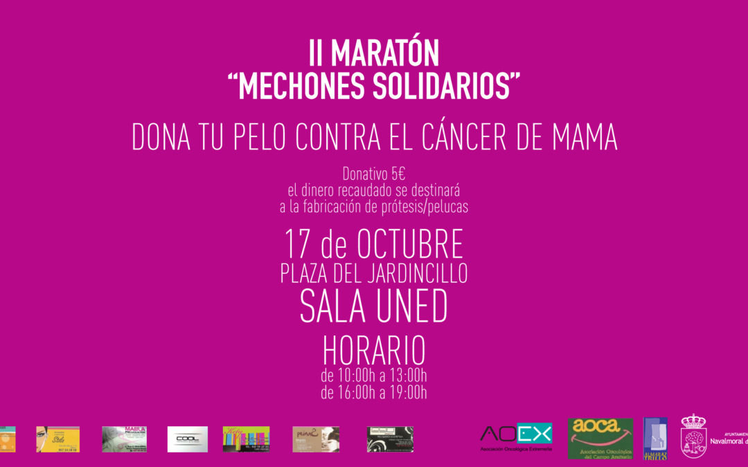 """II Maratón """"Mechones solidarios"""""""