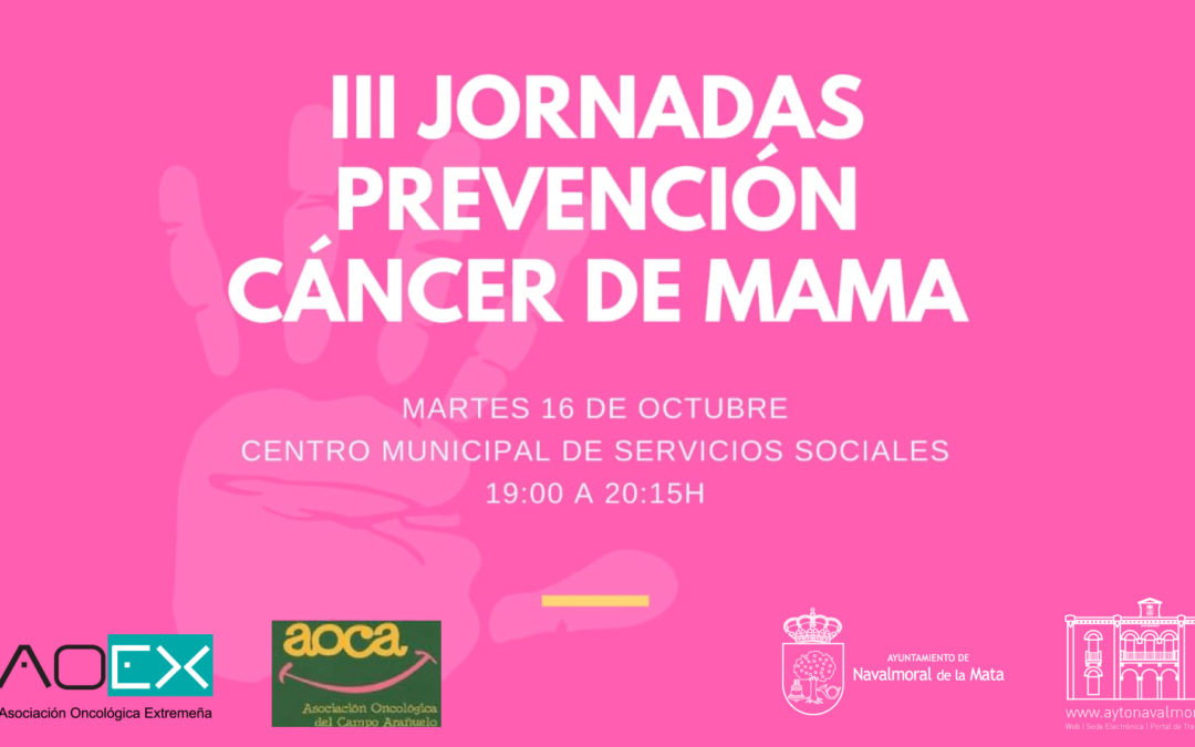 III Jornadas de Prevención de Cáncer de Mama