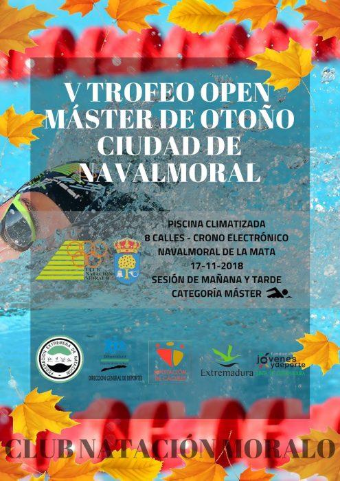 V Trofeo Open Máster de Otoño Ciudad de Navalmoral.