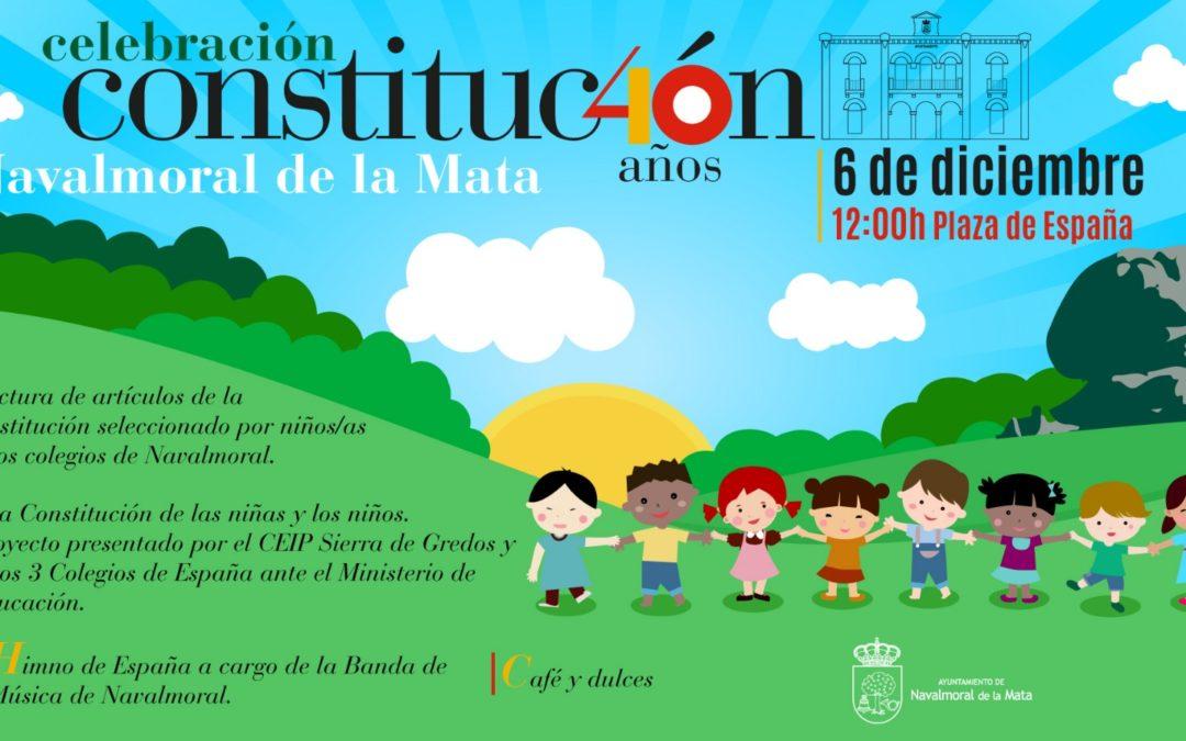 Actividades por el 40 aniversario de la Constitución Española.