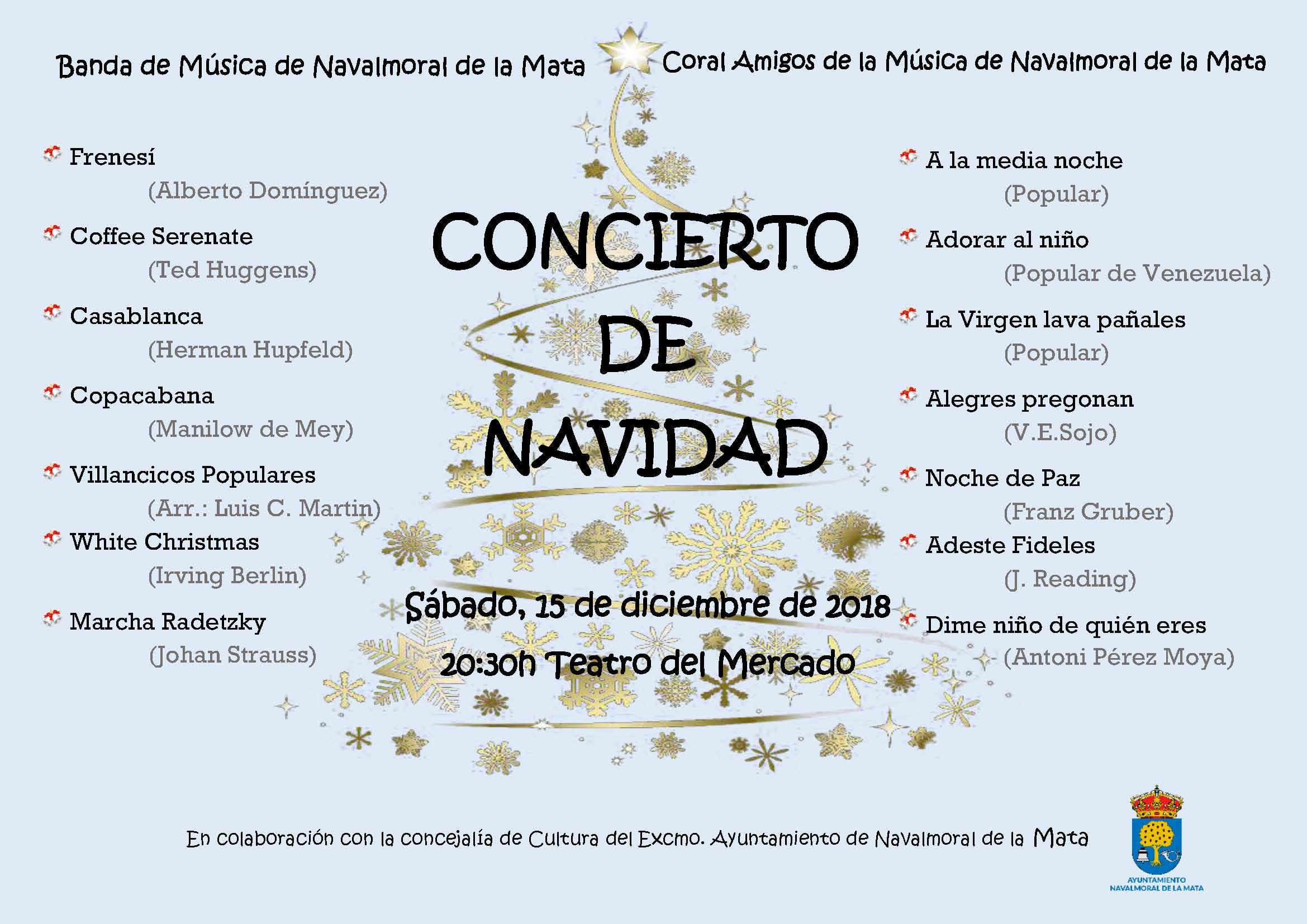 Concierto de Navidad 2018.