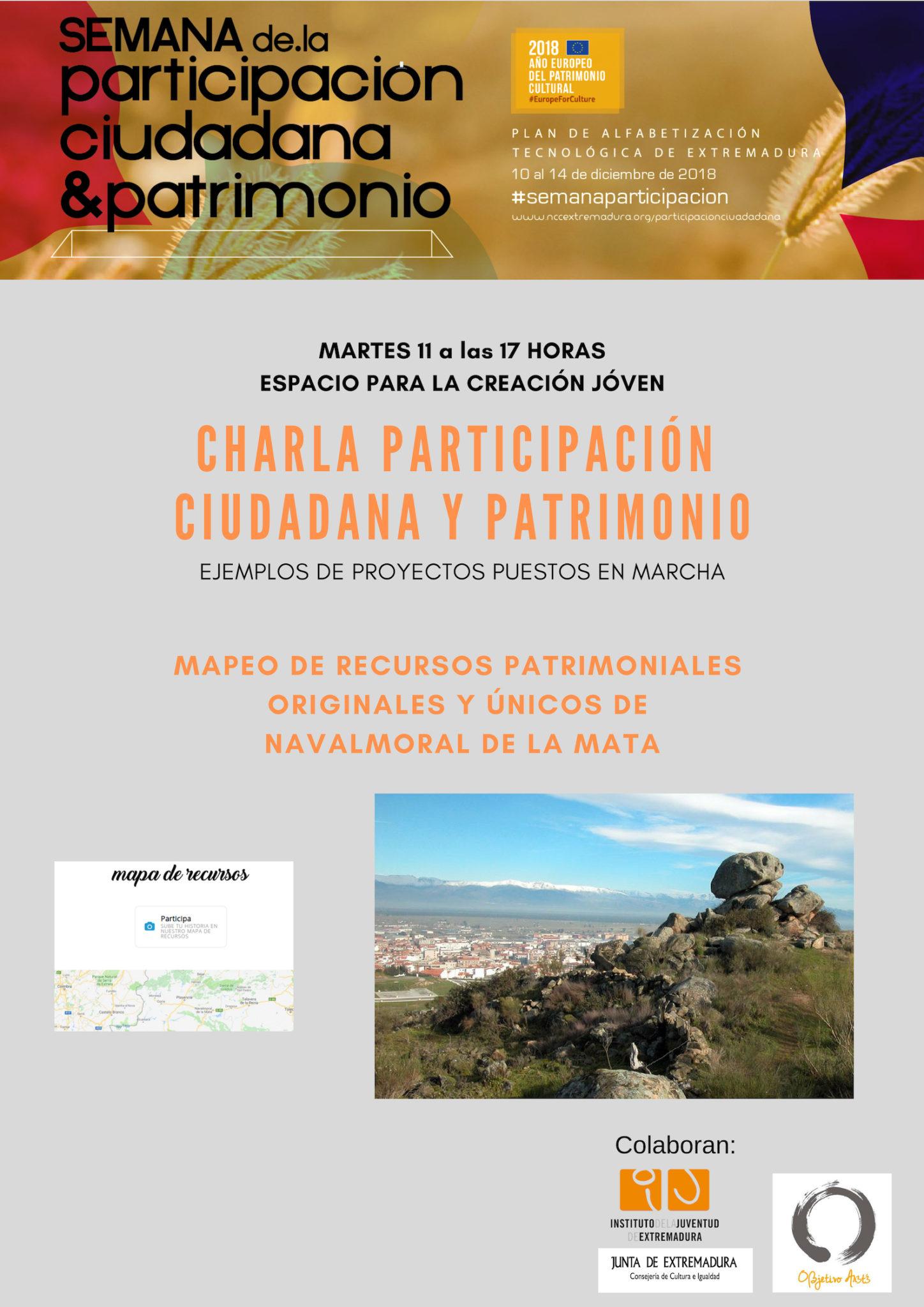 Participación Ciudadana y Patrimonio, Ejemplos de Proyectos Puestos en Marcha.