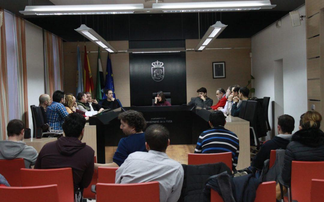 El Comité de Empresa y la Plataforma Ciudadana Vida se reúnen con la alcaldesa de Navalmoral.