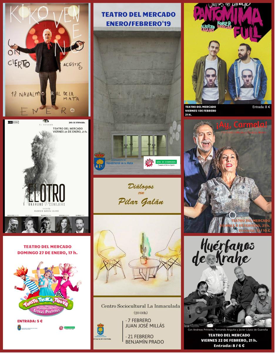 Kiko Veneno, Pantomima Full, Marwan o Juan José Millás formarán parte de la Programación Cultural de Invierno.