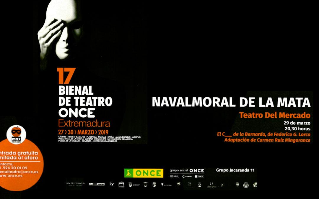 17 Bienal de Teatro ONCE. El C… de la Bernarda.
