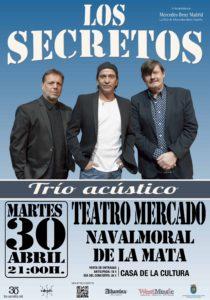 LOS SECRETOS, concierto acústico @ TEATRO DEL MERCADO