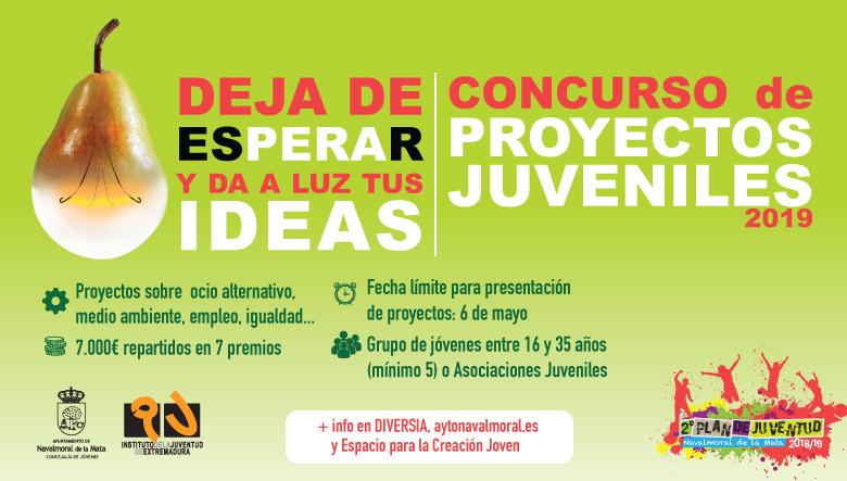 Publicada en el Boletín la nueva convocatoria del Concurso de Proyectos Juveniles