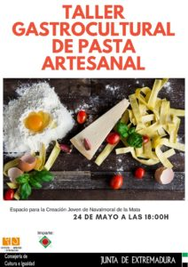 Taller gastrocultural de pasta artesanal @ Espacio para la Creación Joven