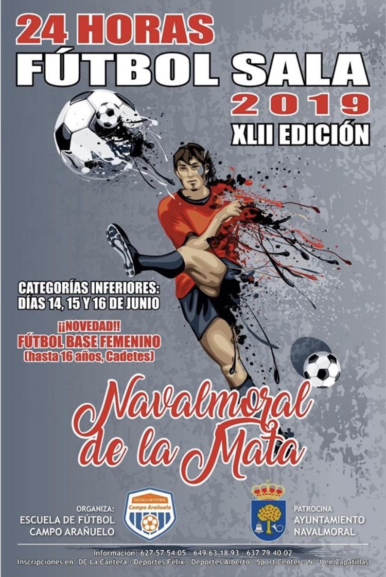 XLII edición de las 24 horas de fútbol sala en categorías inferiores.