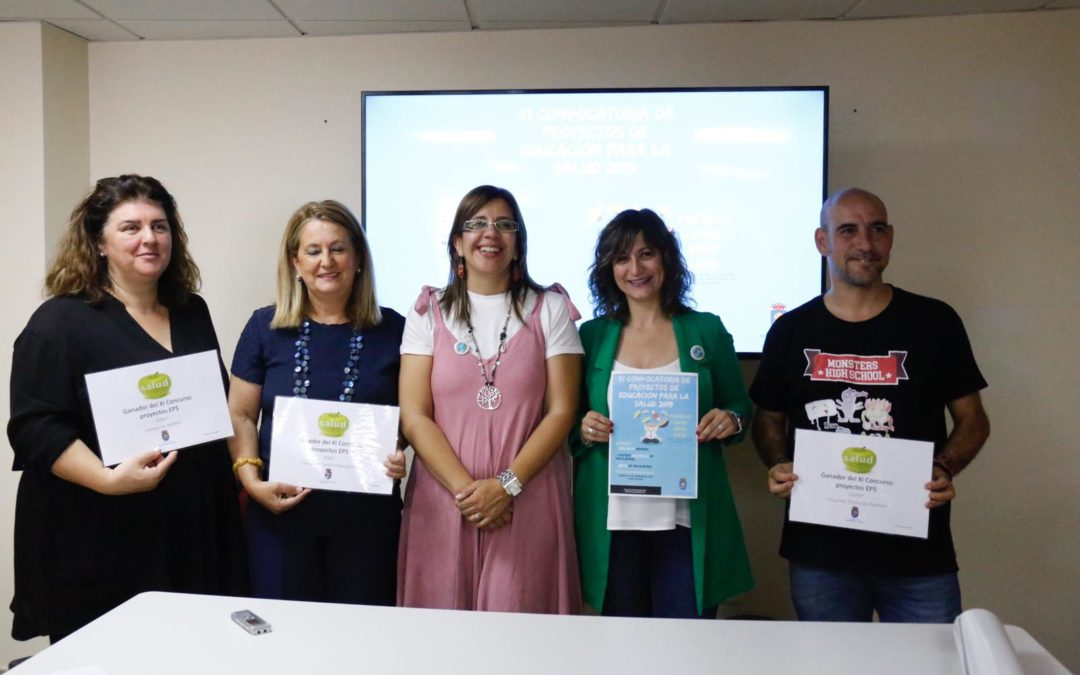 Proyectos ganadores de la XI convocatoria de Proyectos de Educación para la Salud