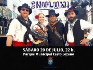 CHULUMI, en concierto @ PARQUE MUNICIPAL CASTO LOZANO