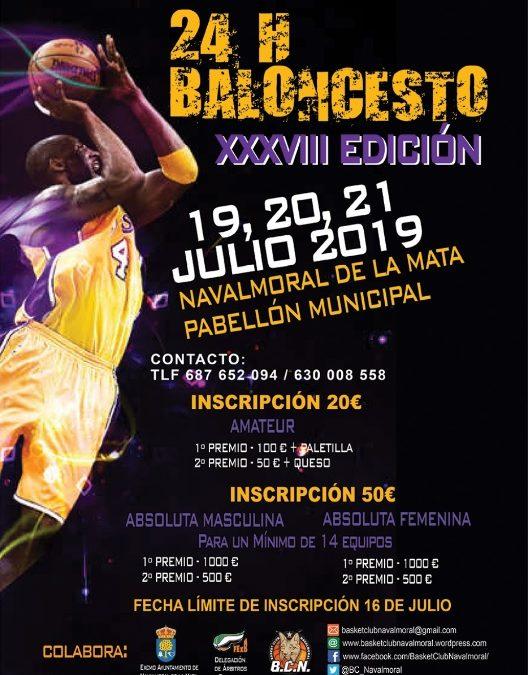 XXXVIII 24h de Baloncesto de Navalmoral de la Mata.