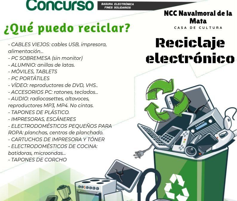 Concurso de Reciclaje Electrónico