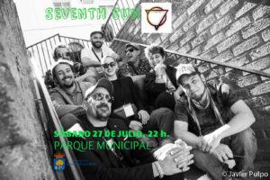 SEVENTH SUN , en concierto @ PARQUE MUNICIPAL CASTO LOZANO