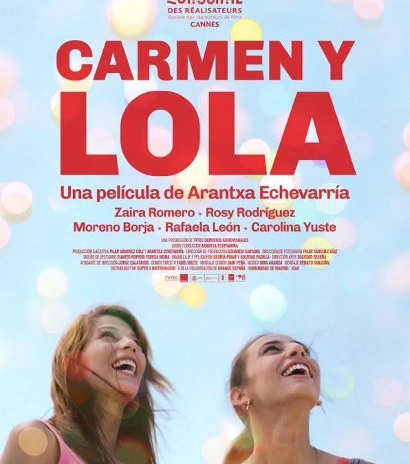 CINE DE VERANO. CARMEN Y LOLA
