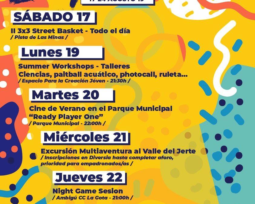 Presentada la IV Semana de la Juventud de Navalmoral