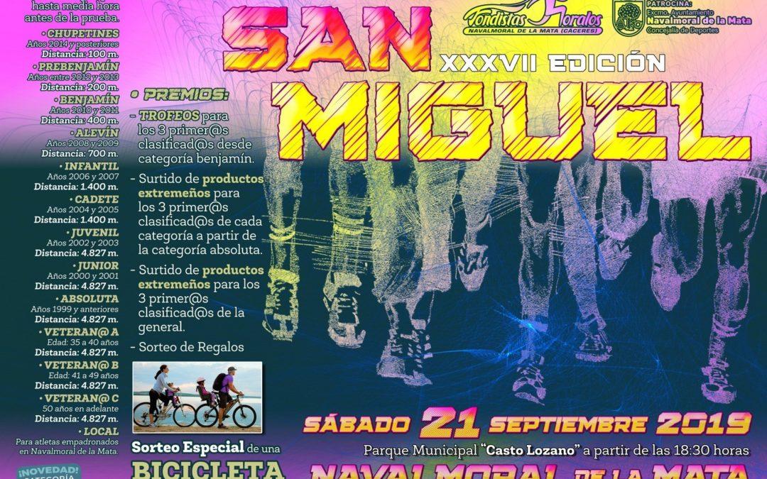 XXXVII Edición de la Carrera Popular de San Miguel.