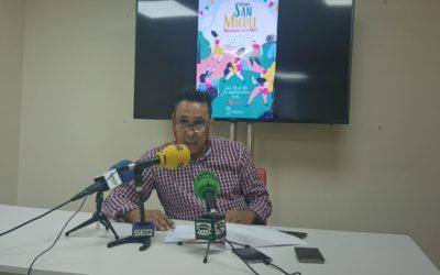 Alfredo Vizcaíno presenta el programa de San Miguel 2019.