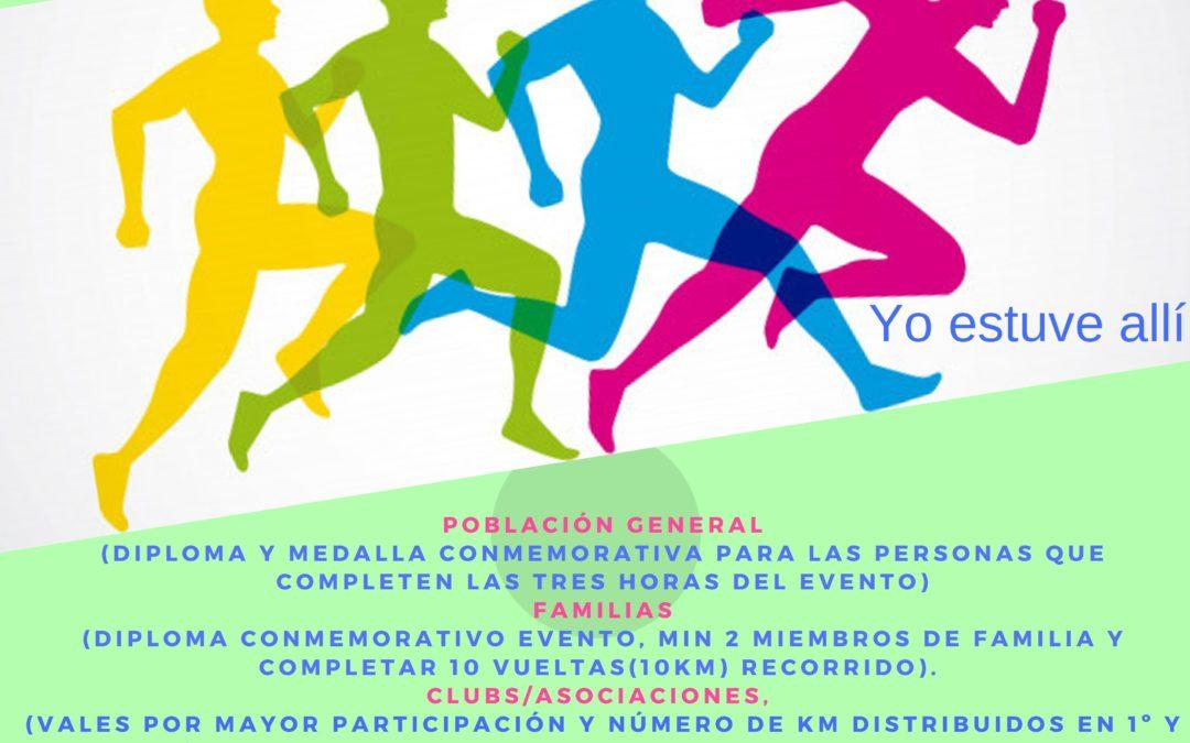XVI Maratón contra la droga.