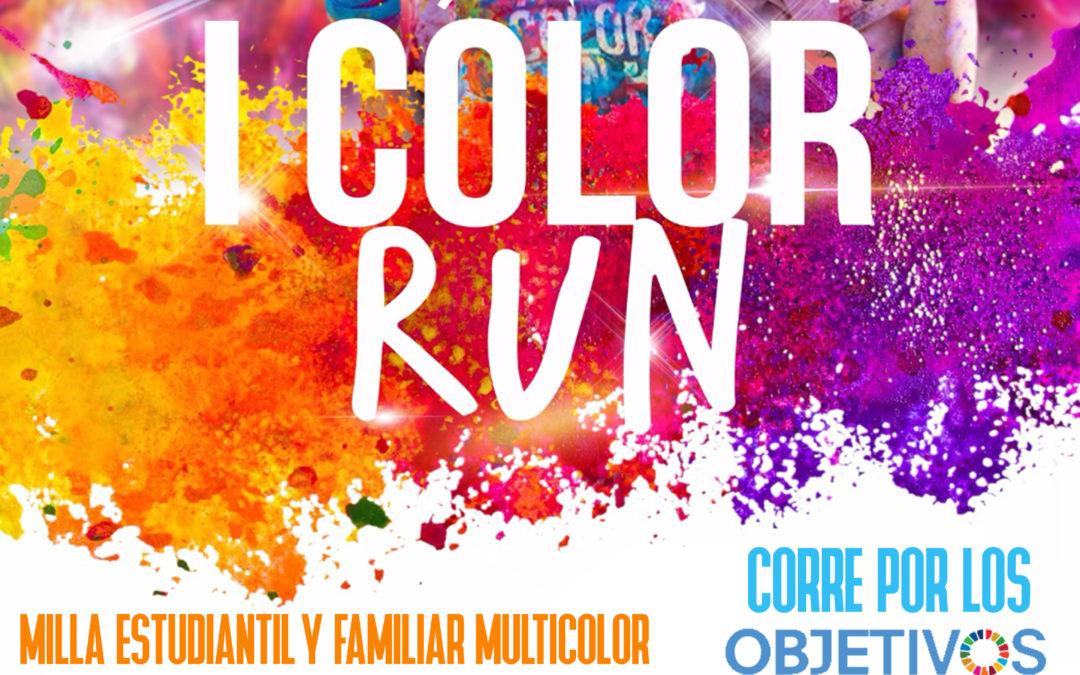 Carrera popular y Marcha de colores por los objetivos del milenio.