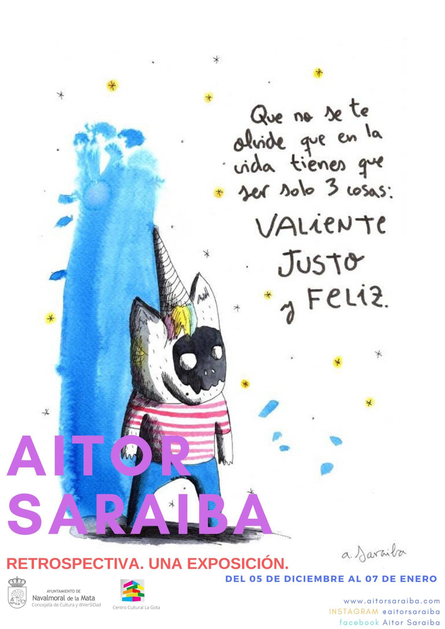 Exposición de Aitor Saraiba en la Gota