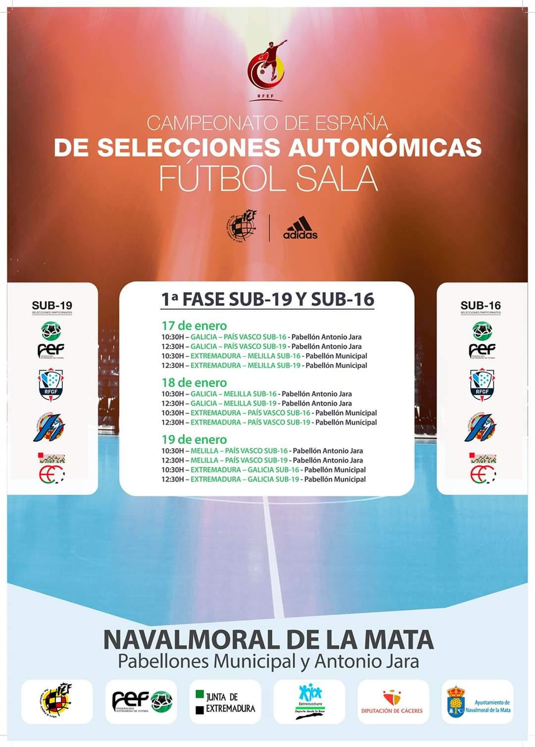 CAMPEONATO NACIONAL DE SELECCIONES AUTONÓMICAS DE FÚTBOL SALA