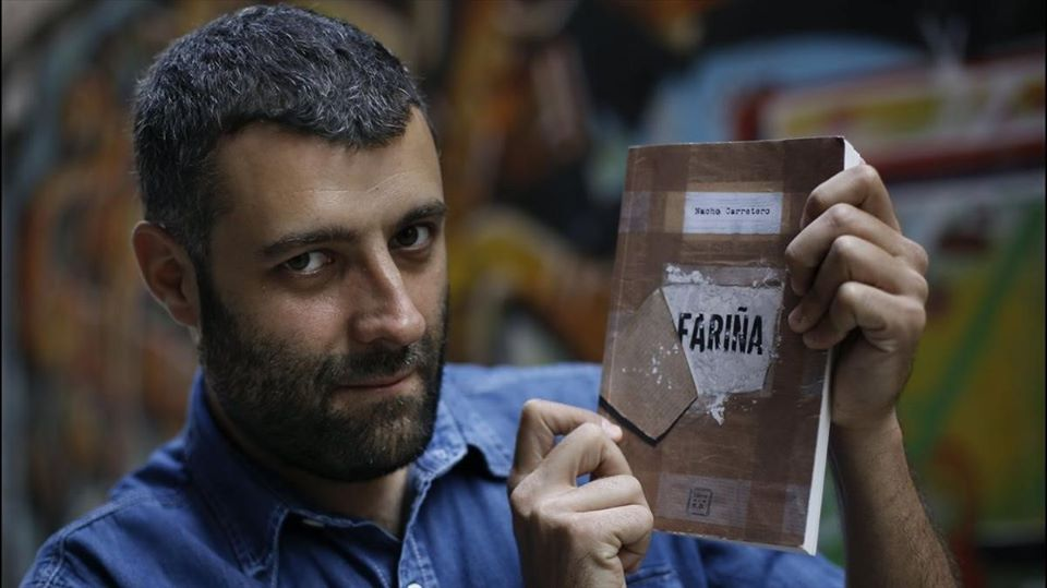 """Nacho Carretero, autor de la censurada """"Fariña"""", estará con nosotros el jueves 16 de enero."""