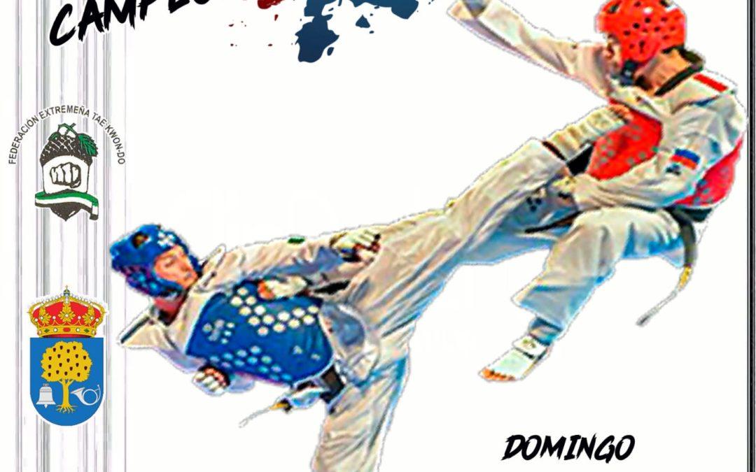 Campeonato Autonómico senior de Taekwondo