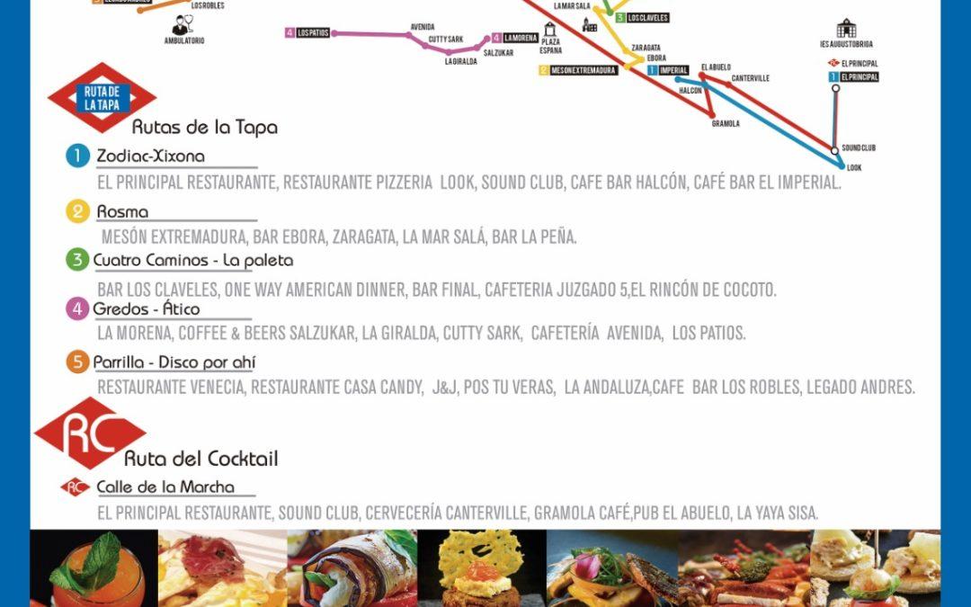 Hostelería y comercio regalan 2000 euros por completar las rutas de la Tapa y del Cóctel