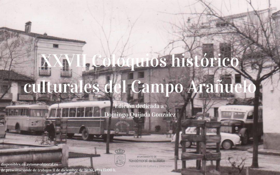 El día 11 de diciembre acaba el plazo para la presentación de trabajos a los Coloquios Histórico-Culturales del Campo Arañuelo.