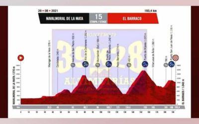 Navalmoral será el punto de partida de la decimoquinta etapa de la Vuelta Ciclista a España.