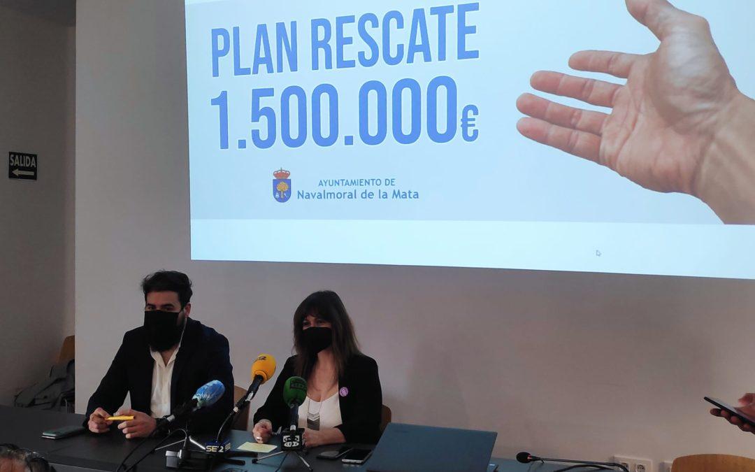 La alcaldesa anuncia la próxima línea de subvenciones enmarcadas en el Plan Rescate Navalmoral.