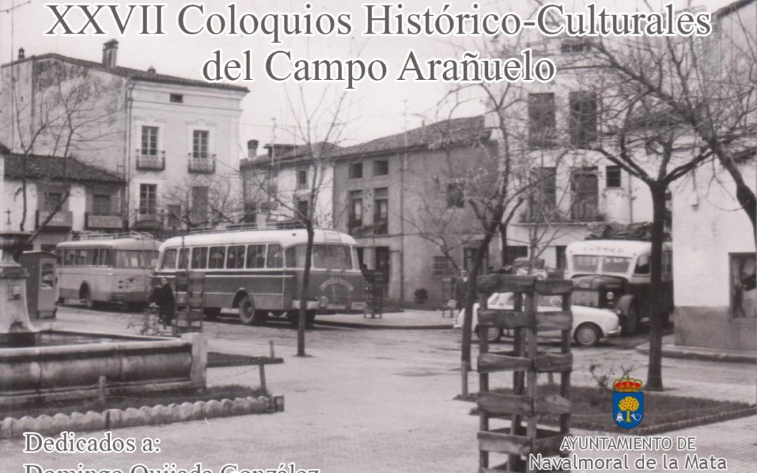 Accede a todos los Coloquios Histórico-Culturales del Campo Arañuelo.