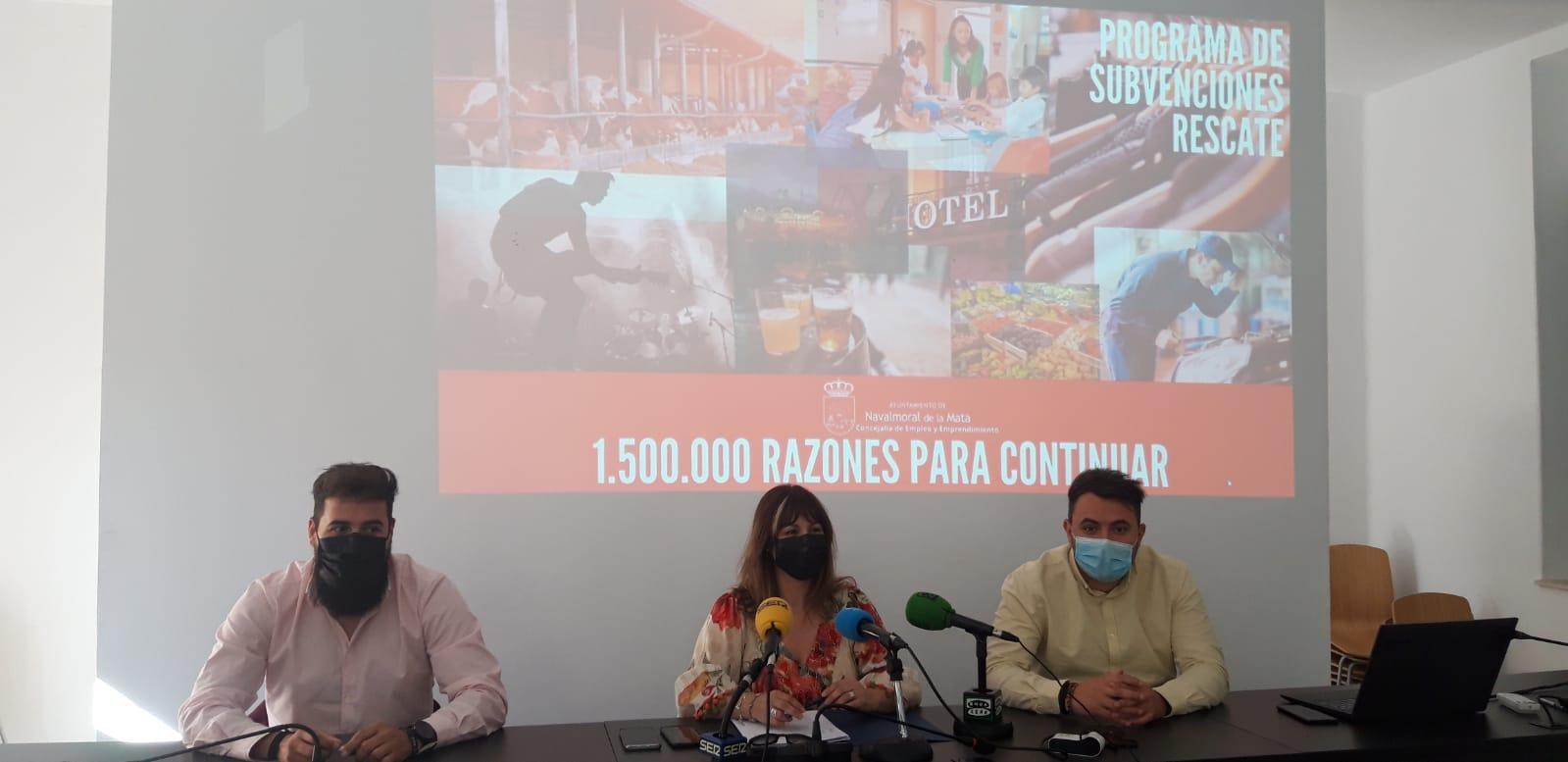 Publicada la Resolución de Alcaldía con los beneficiarios del Plan Rescate.