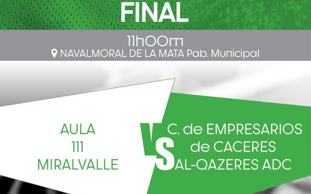 Navalmoral acoge la Final Cadete Femenina en categoría ORO.