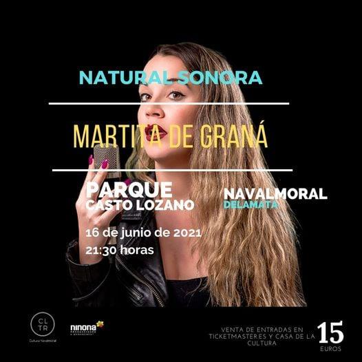 Consigue las últimas entradas para ver a Martita de Graná el próximo 16 de junio.