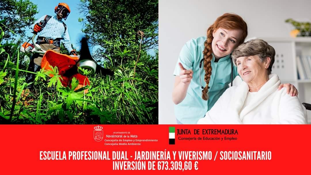 La Junta de Extremadura concede a Navalmoral dos Escuelas de Formación Dual.