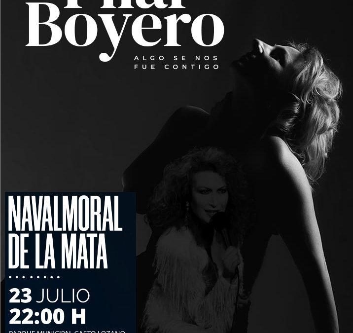Pilar Boyero homenajeará a Rocío Jurado en el Parque Municipal.