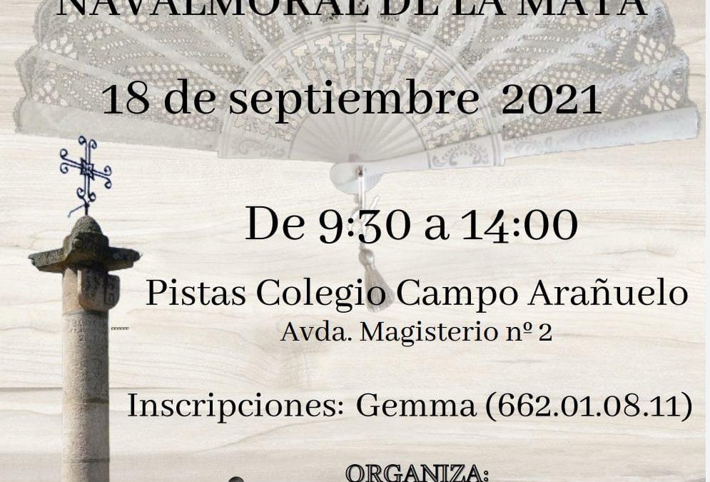 I Encuentro de bolillos de Navalmoral de la Mata.