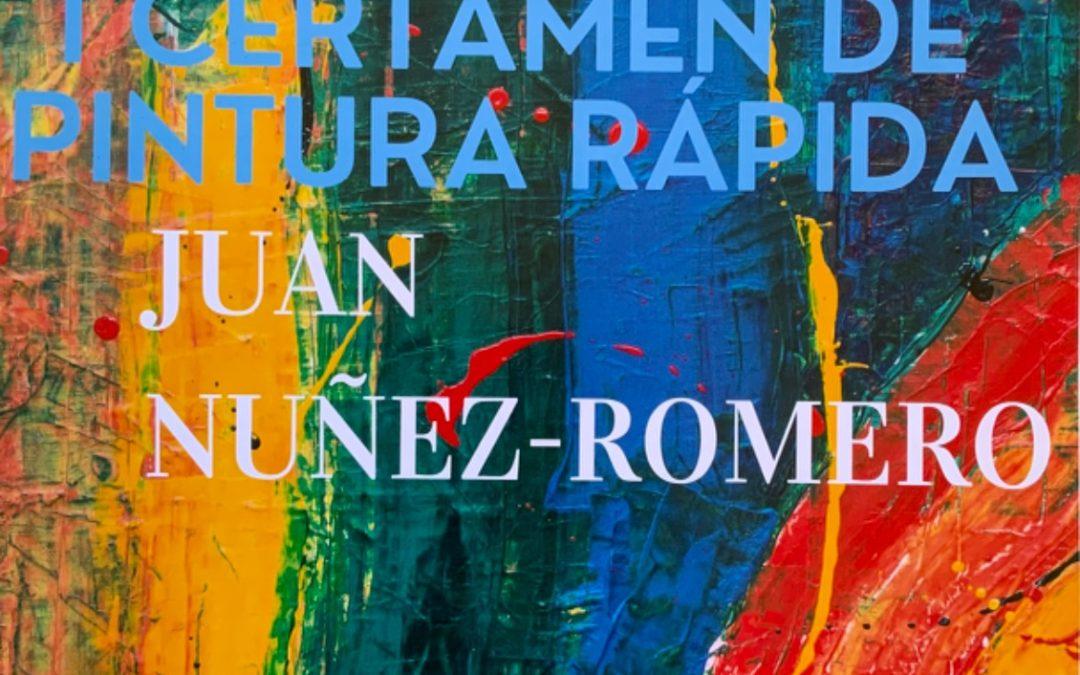 I Certamen de pintura rápida Juan Núñez Romero.